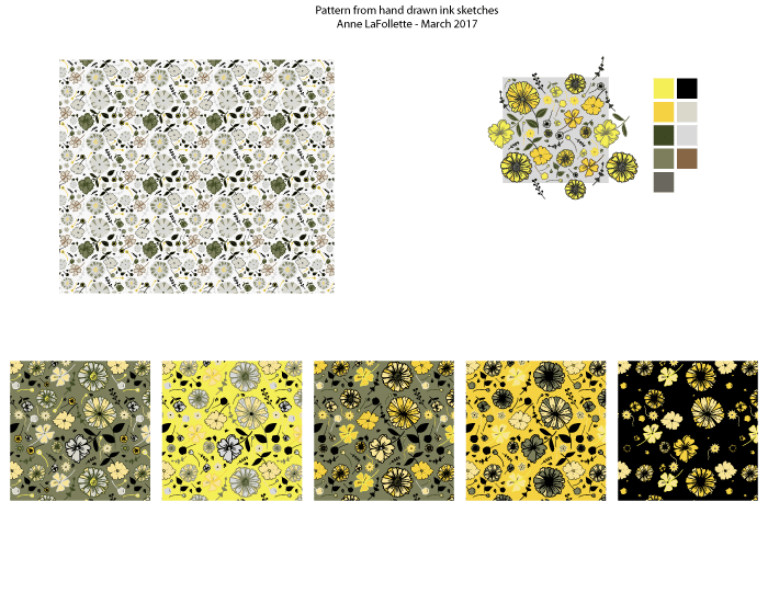 Illustrate from Photos and Paintings Workshop: 4 patterns! - image 6 - student project