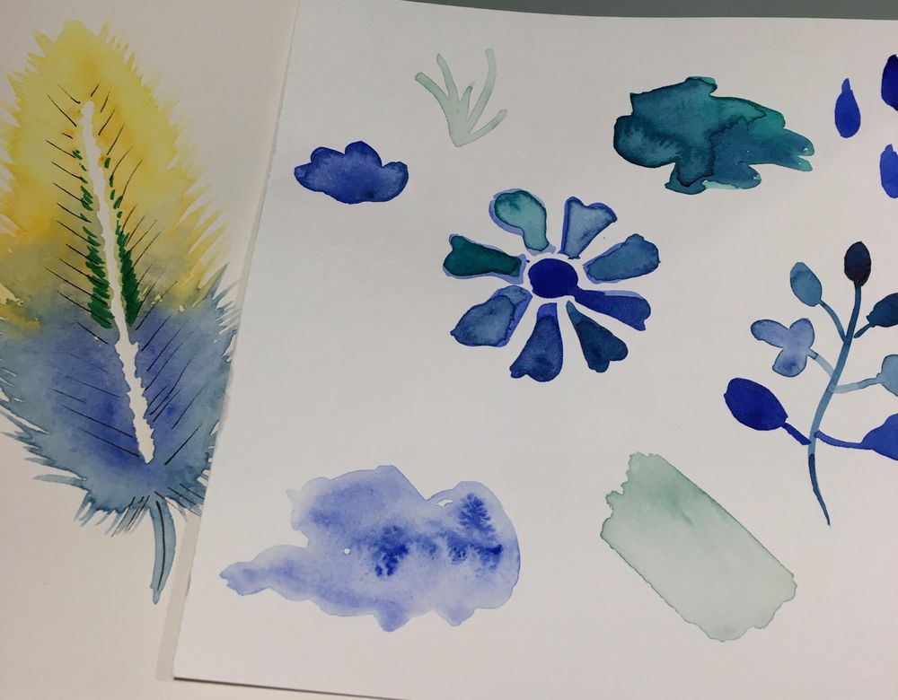 Illustrate from Photos and Paintings Workshop: 4 patterns! - image 11 - student project