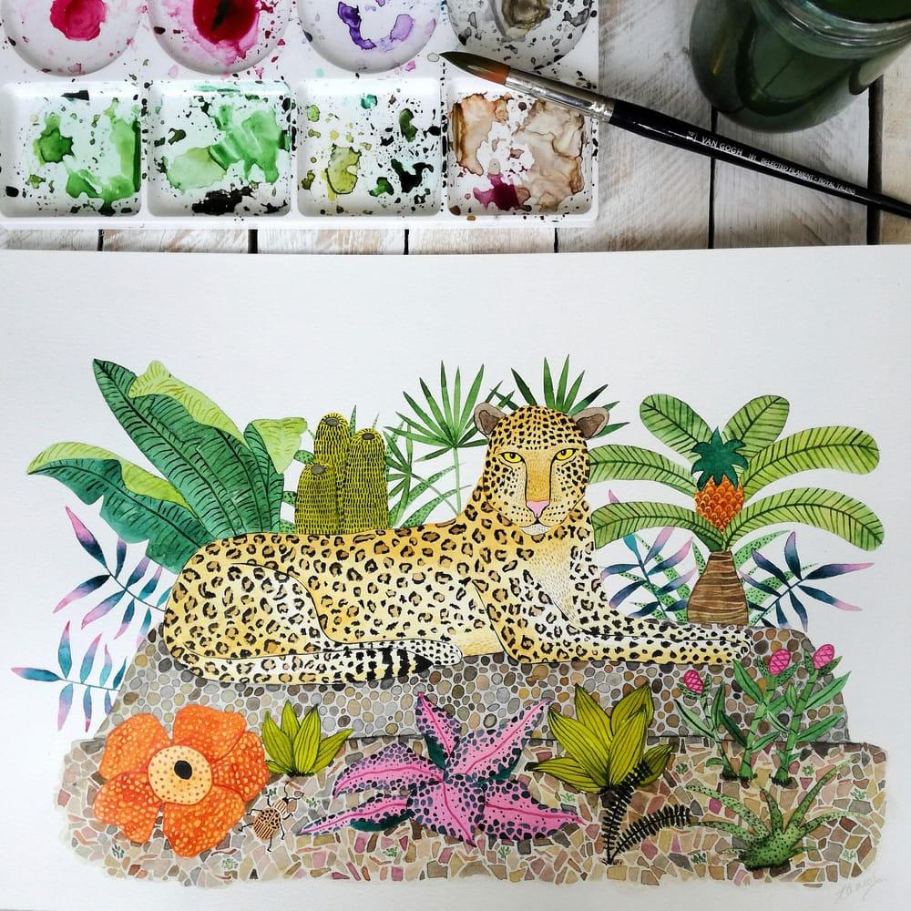 Jungle Mood - image 6 - student project