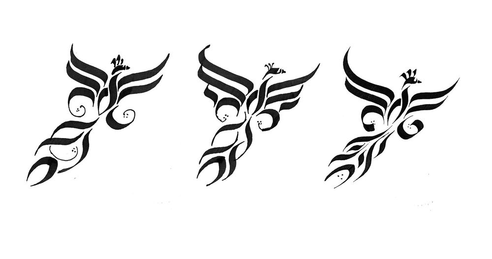Great Gothic Boot Camp Challenge: Calligraphy Stroke Tatoo + Sketches and Exploration + Exercises - image 8 - student project