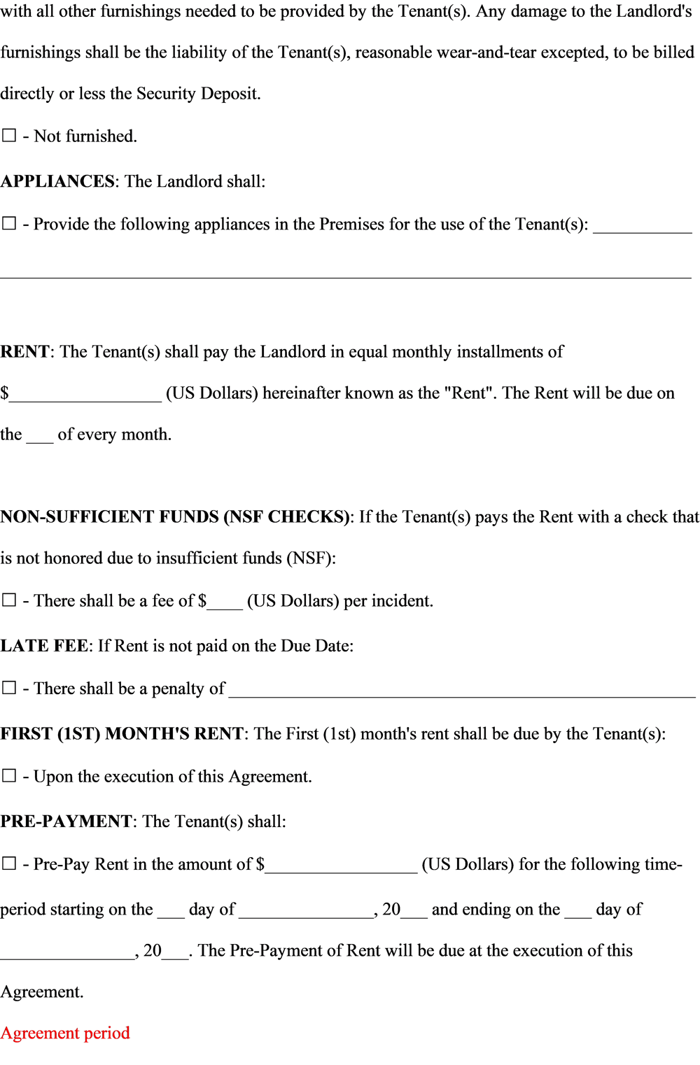 Lease Agreement Assignment - image 2 - student project