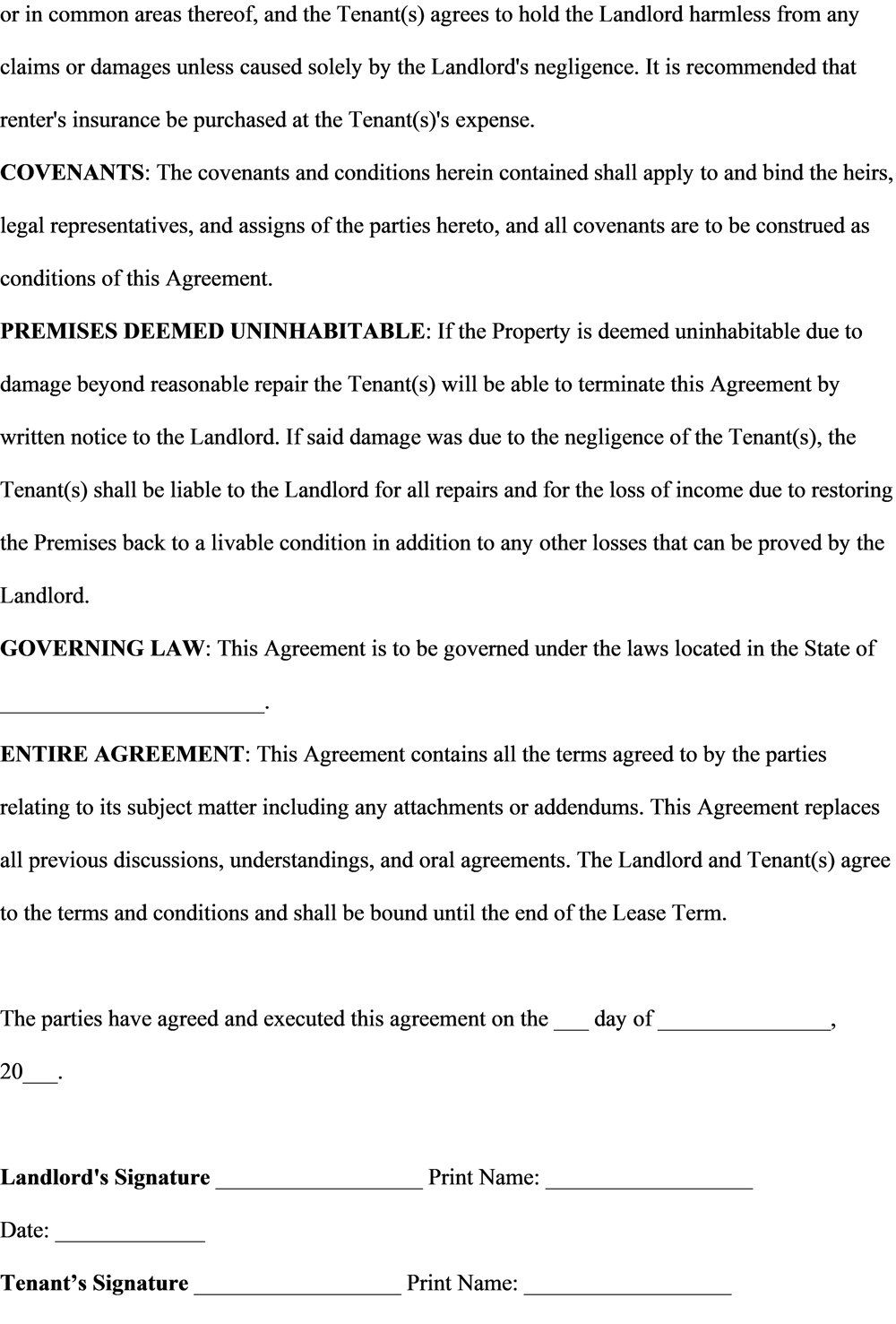 Lease Agreement Assignment - image 8 - student project