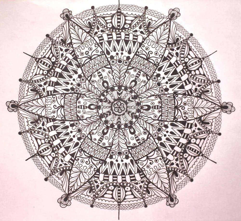 My first mandala. - image 1 - student project