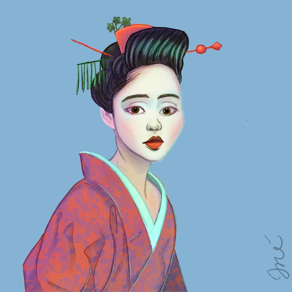 Geisha - image 1 - student project