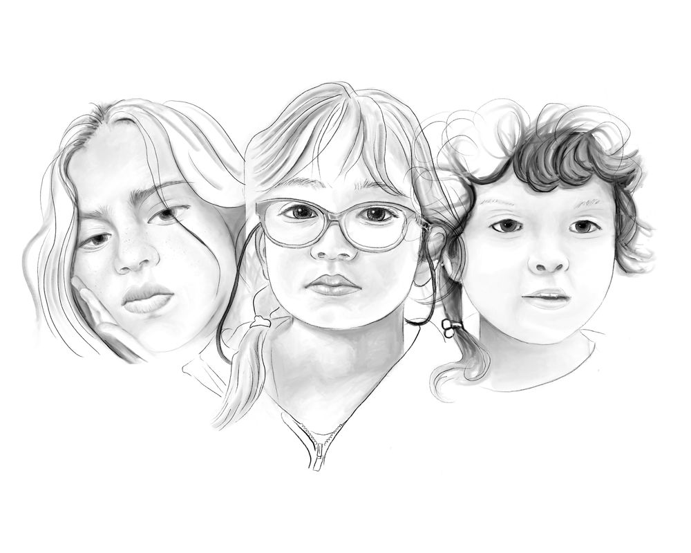 3 sisters/Digital drawing - image 1 - student project