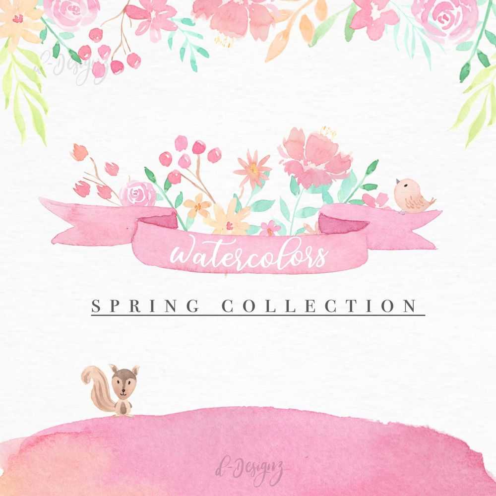 Watercolors Spring Collection - image 1 - student project