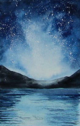 Fun and Easy Watercolour Galaxies - image 4 - student project