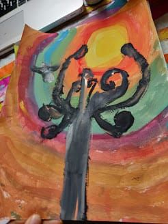 Painting with my 2 kids :) - image 2 - student project