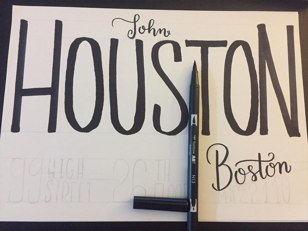Houston's envelope - image 3 - student project