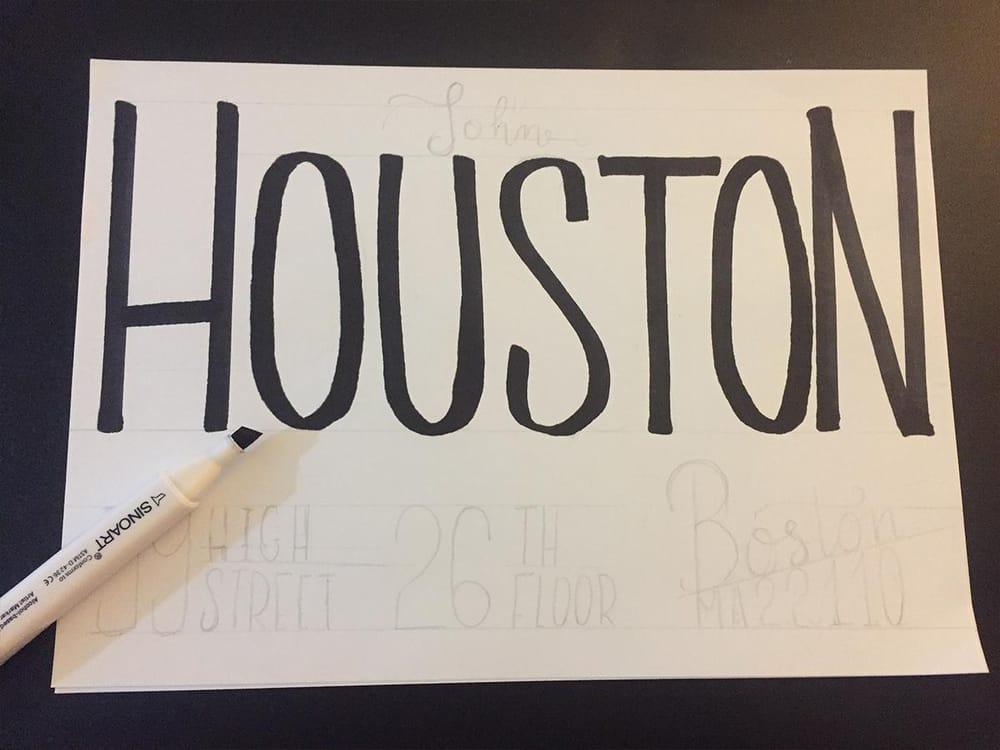 Houston's envelope - image 2 - student project