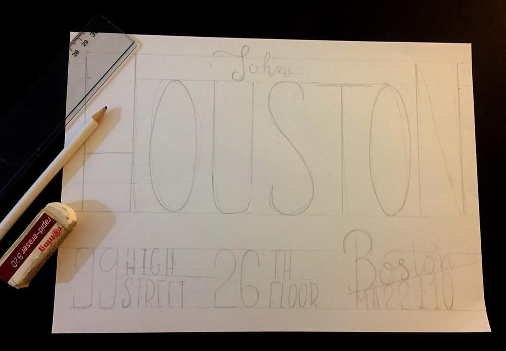 Houston's envelope - image 1 - student project