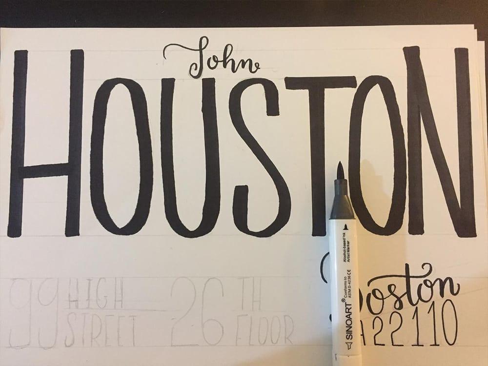 Houston's envelope - image 4 - student project