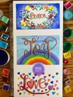 Peace, Joy, Love - image 2 - student project