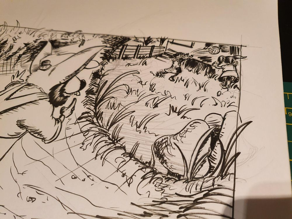 Willie Wombat travels through the magic tunnel... - image 1 - student project