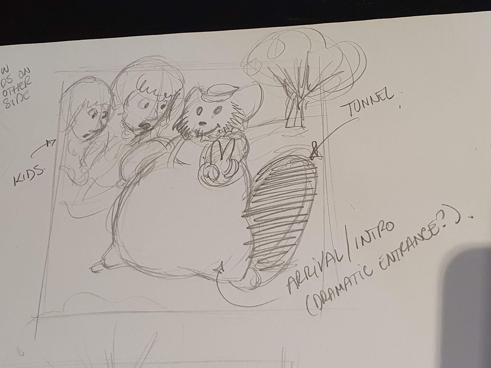 Willie Wombat travels through the magic tunnel... - image 6 - student project