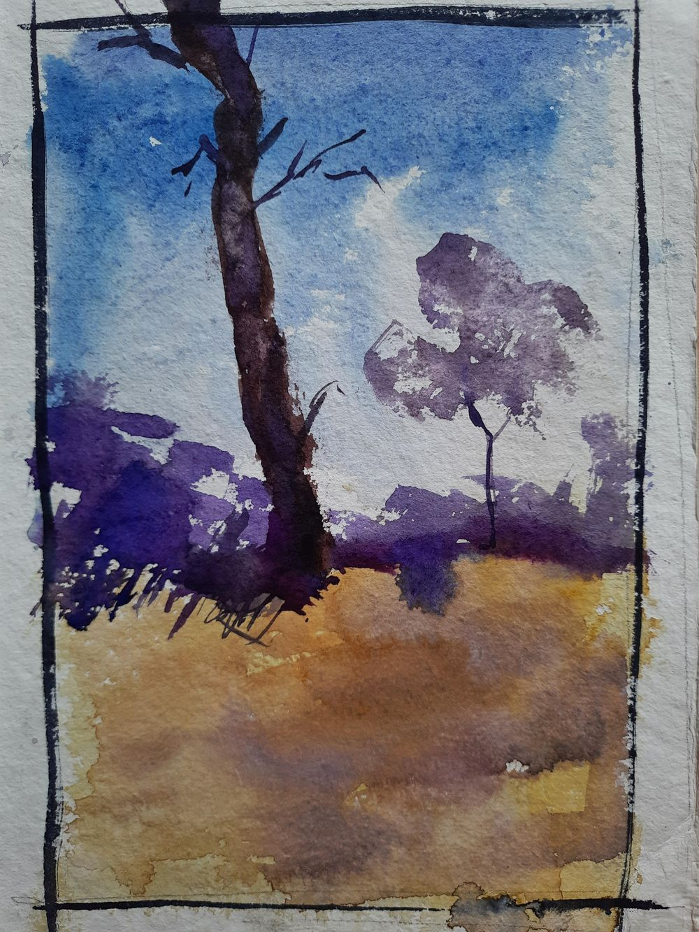 Watercolor workout - image 20 - student project