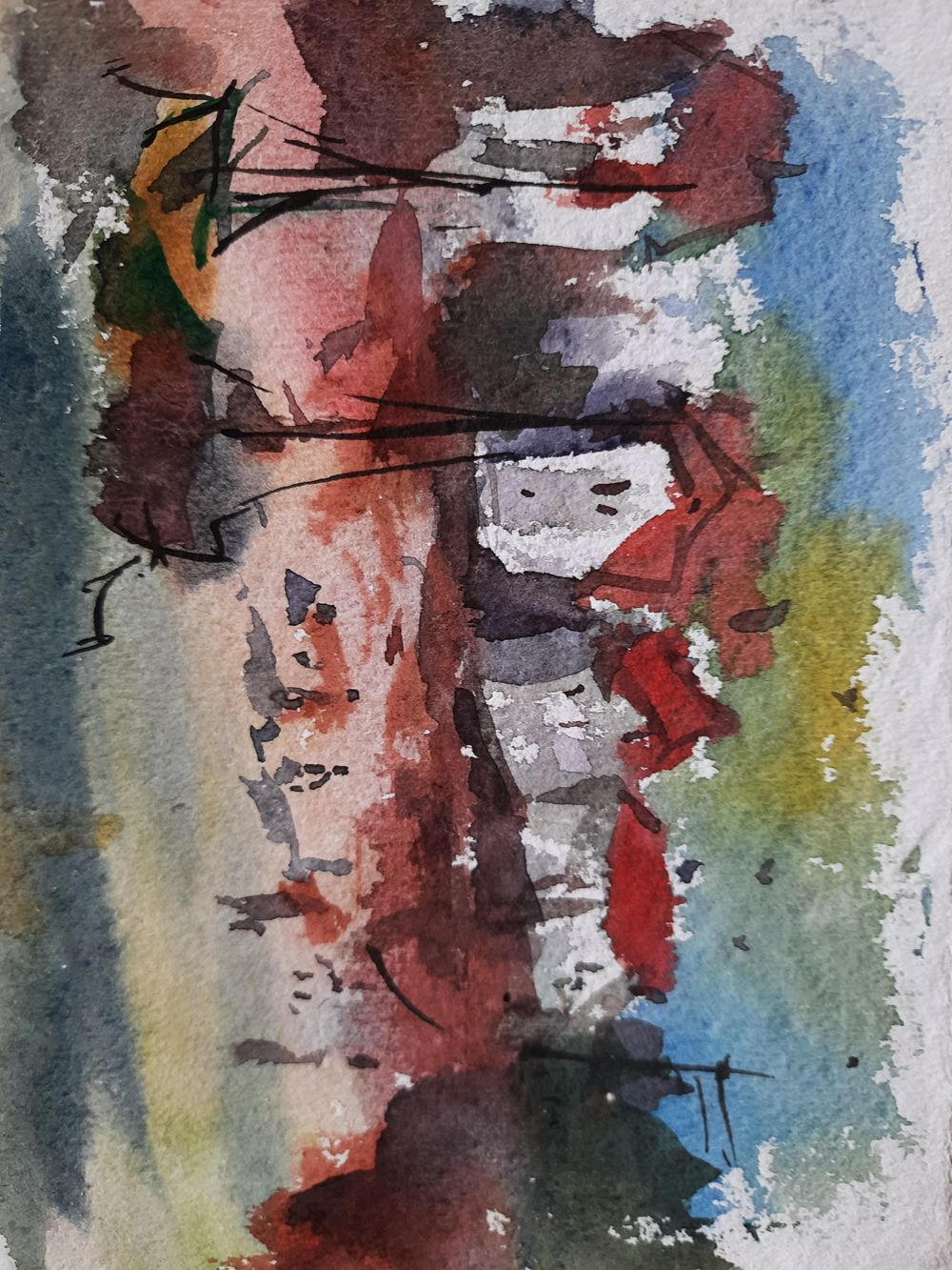 Watercolor workout - image 5 - student project