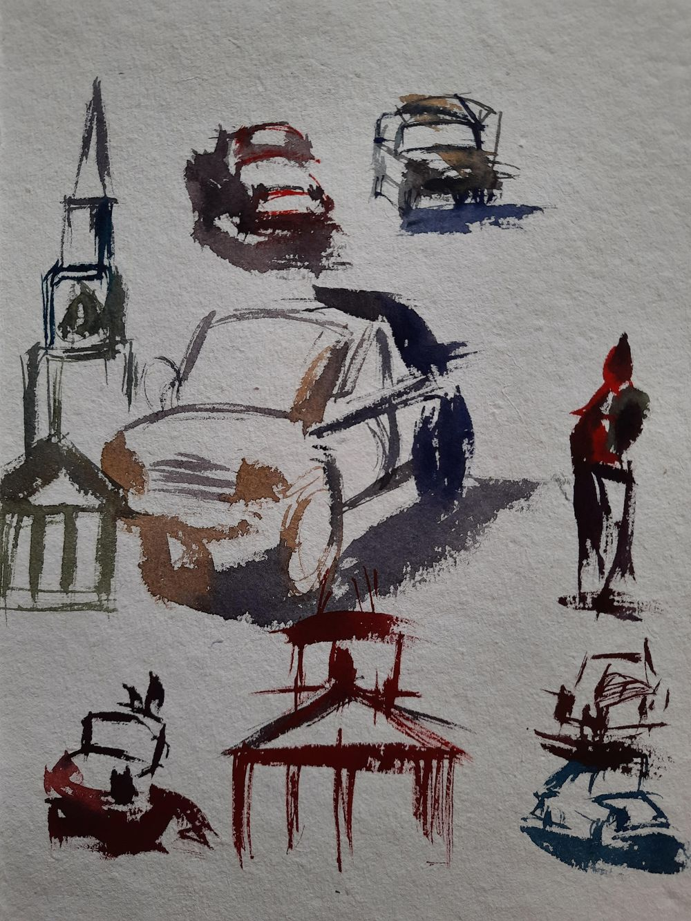 Watercolor workout - image 18 - student project