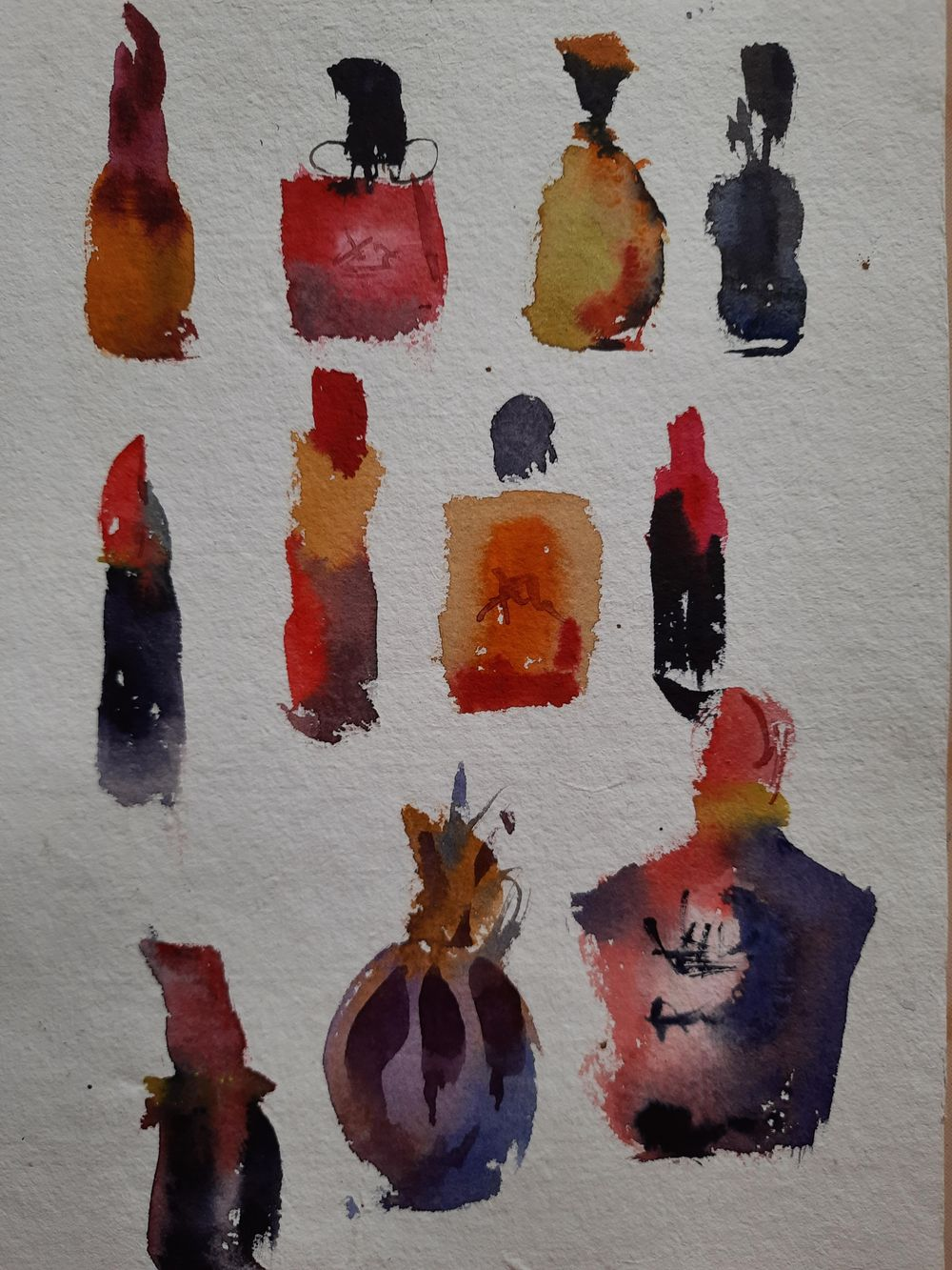Watercolor workout - image 3 - student project