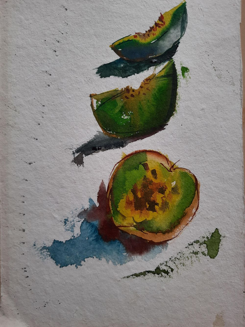 Watercolor workout - image 9 - student project