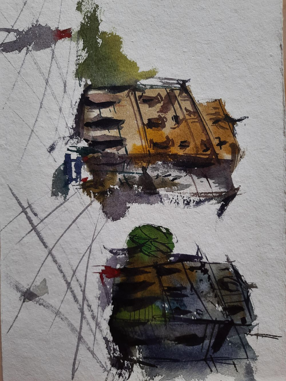 Watercolor workout - image 8 - student project