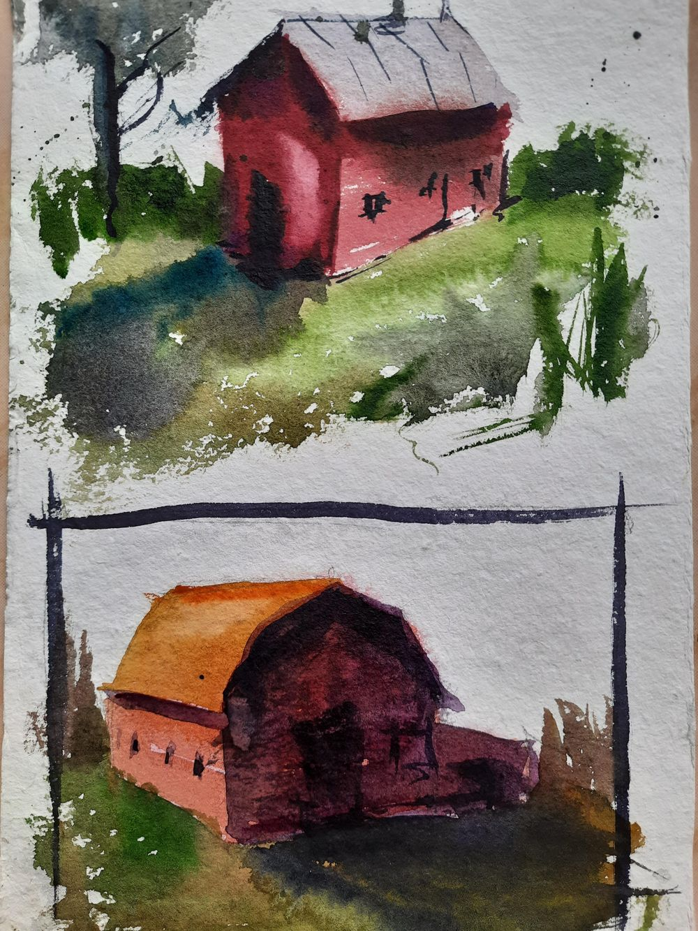 Watercolor workout - image 11 - student project