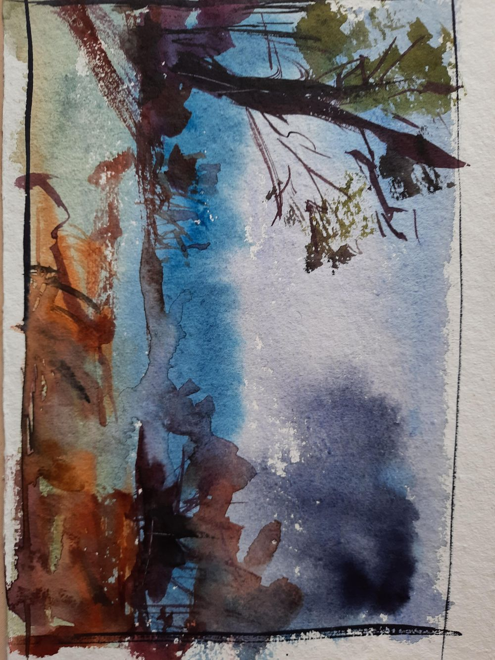 Watercolor workout - image 16 - student project