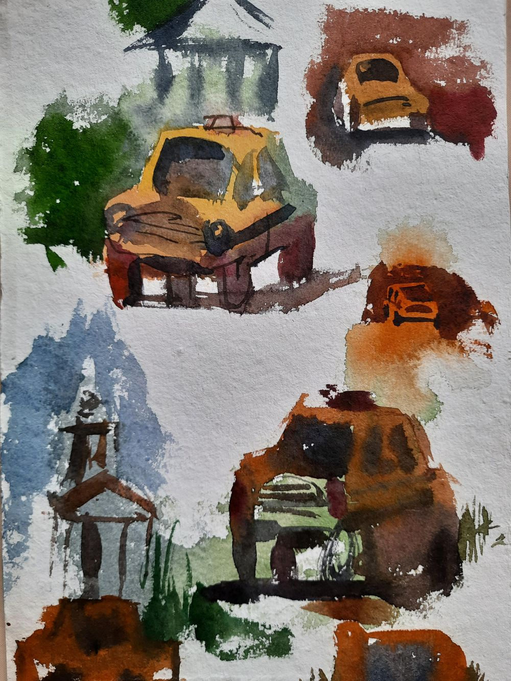 Watercolor workout - image 19 - student project