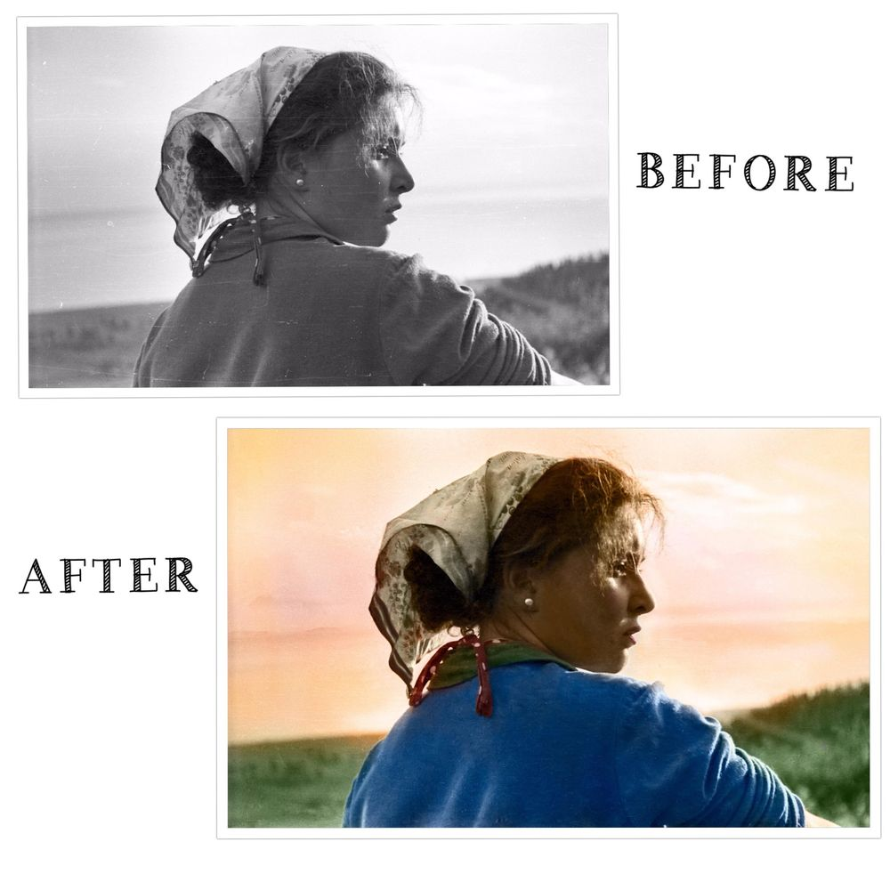 Retouch and restore! - image 1 - student project