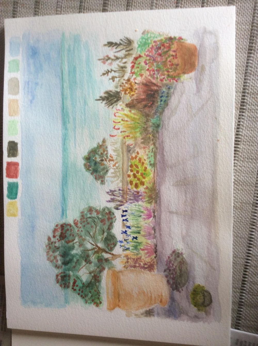 Botanical Illustration : Creating a colorful garden - image 1 - student project