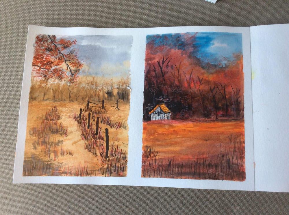 Autumn landscapes - image 2 - student project