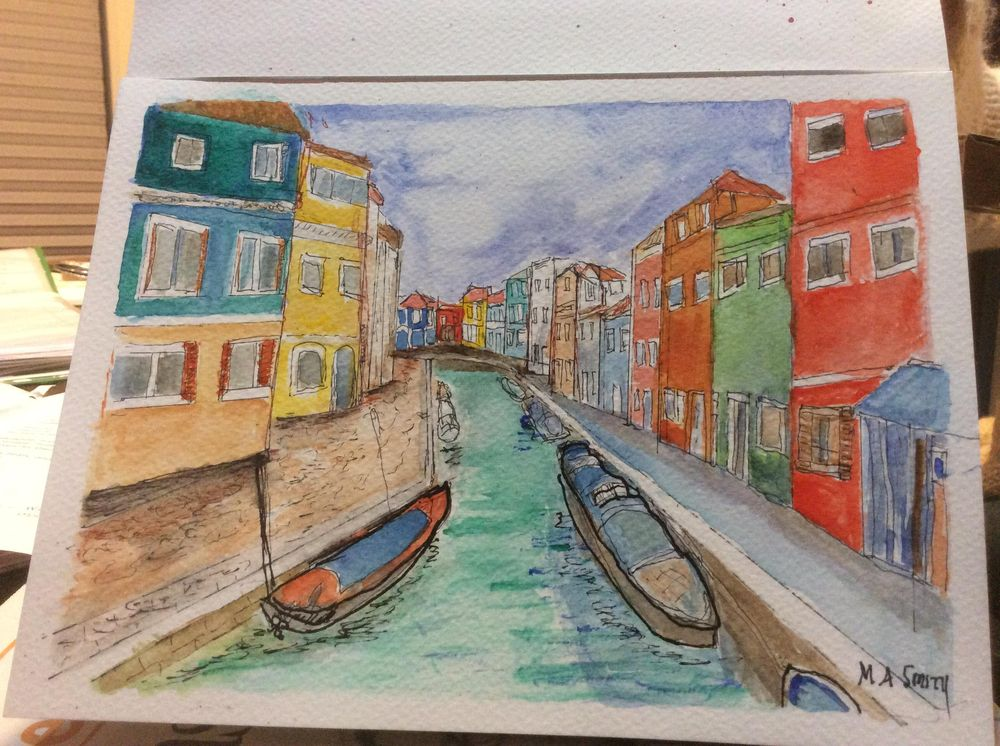 Urban sketching for beginners - image 2 - student project