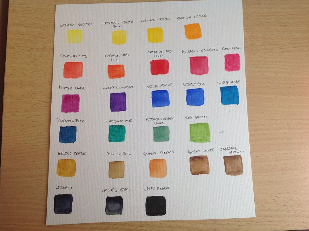 Beginner's palette - image 1 - student project