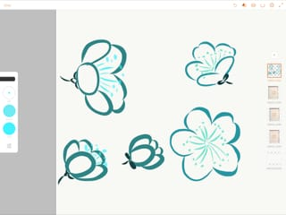 """Intro to surface pattern design workshop:  """"Nostalgia"""" - image 2 - student project"""