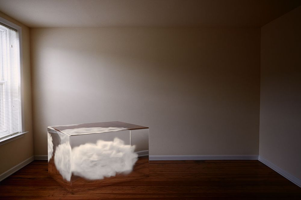 Cloud in a glass box - image 1 - student project