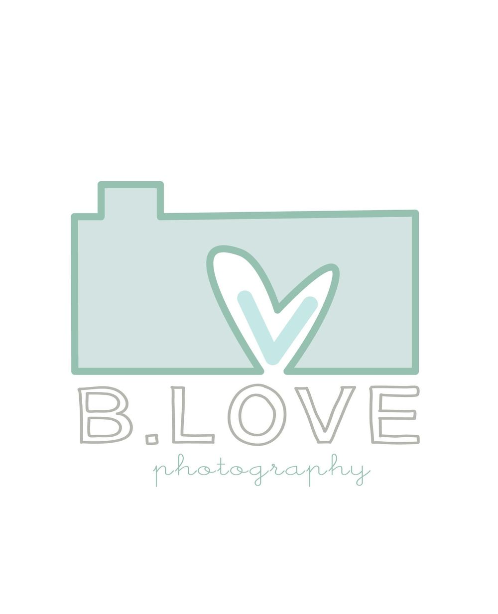 B.love Photography Logo - image 1 - student project