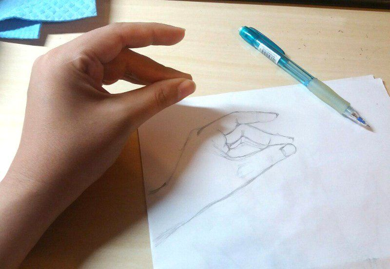 Hand practice - image 2 - student project
