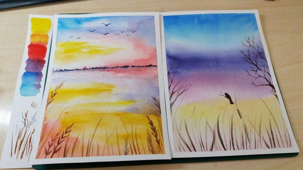 Colorful landscapes - image 4 - student project