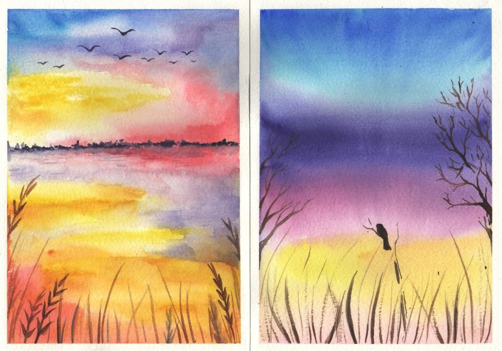 Colorful landscapes - image 5 - student project