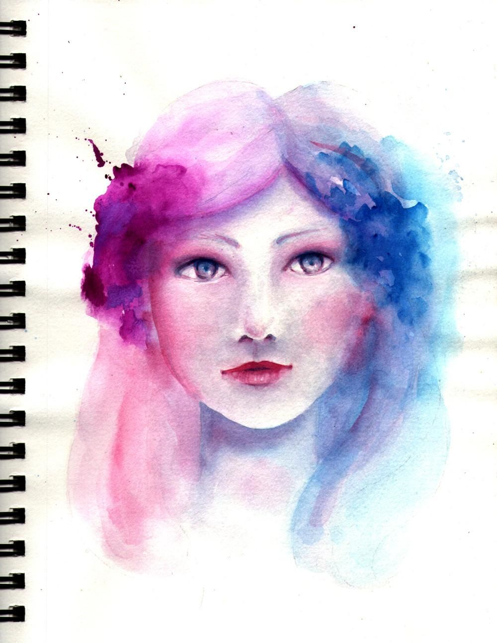 Whimsical girl - image 3 - student project