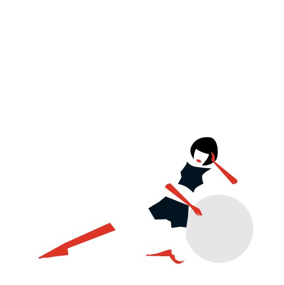 Fitness Ball Exercise Postures - image 10 - student project