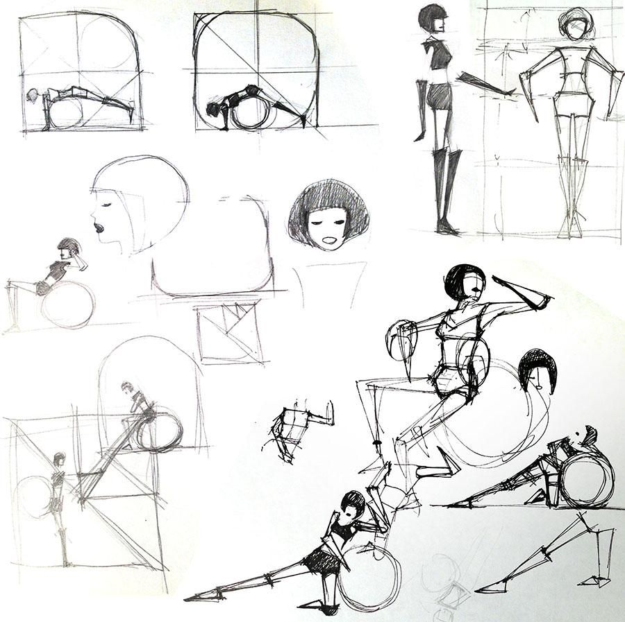 Fitness Ball Exercise Postures - image 7 - student project