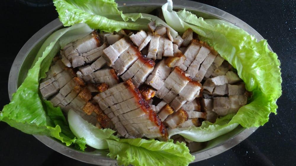 Homemade Crispy Skin Roasted Pork Belly - image 1 - student project
