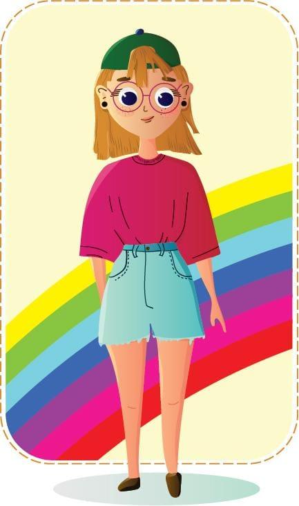 Teenage Girl Named Zita - image 1 - student project