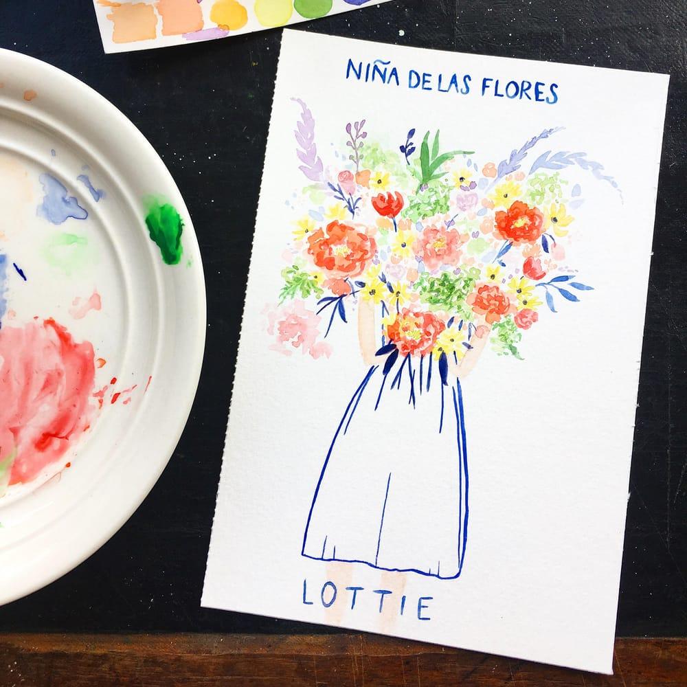 Niña De Las Flores - image 1 - student project