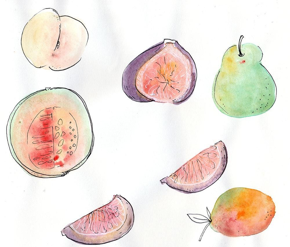 Fun with Fruits and co :D - image 2 - student project