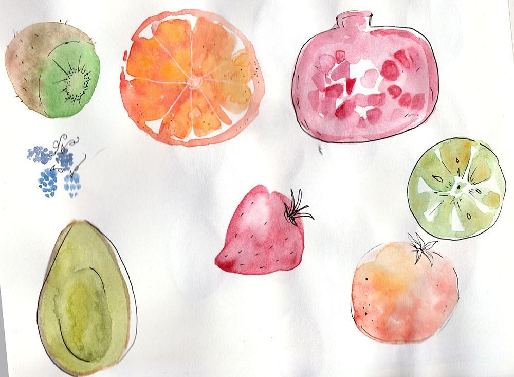 Fun with Fruits and co :D - image 4 - student project