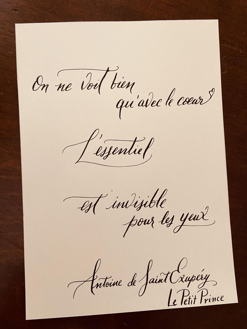 Two Favorite French Quotes - image 1 - student project