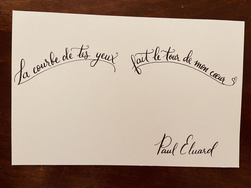 Two Favorite French Quotes - image 2 - student project