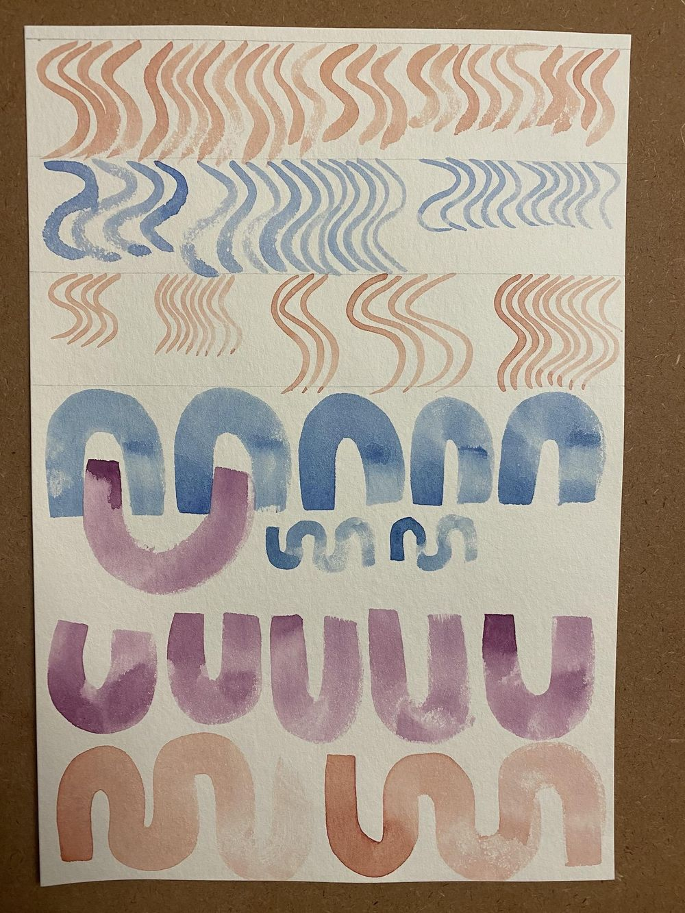Watercolor workout exercises - image 6 - student project